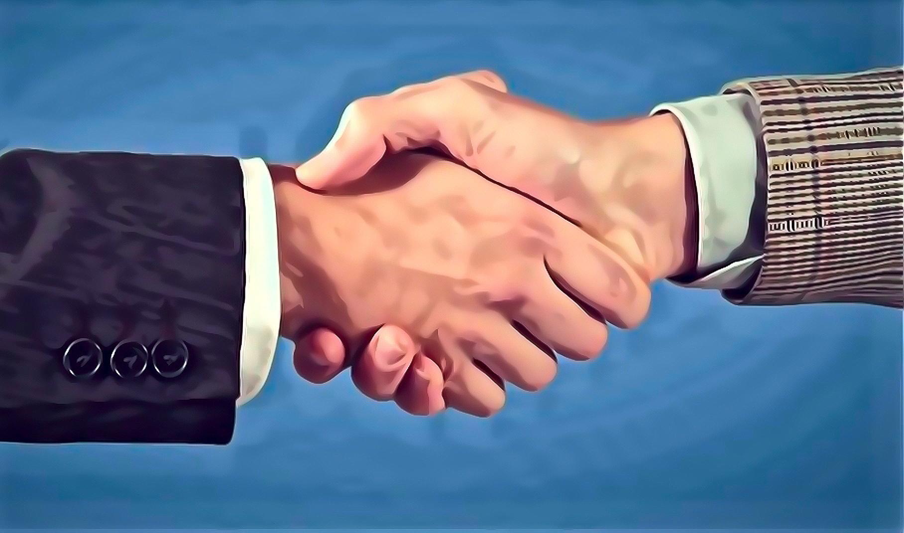 Badu Partners Handshake